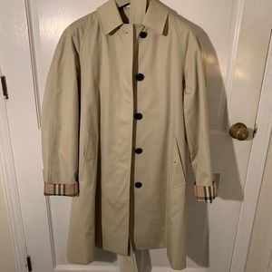 Burberry Trench with Removable Liner in Stone